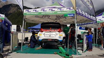 Assistenza day2 Sossella Falzone (Ford Fiesta WRC, PA Racing #3), CAMPIONATO ITALIANO WRC